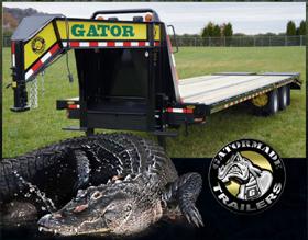 Gatormade Gooseneck Trailers